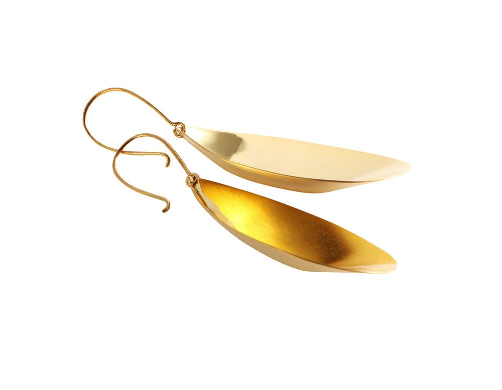 seed pod earrings
