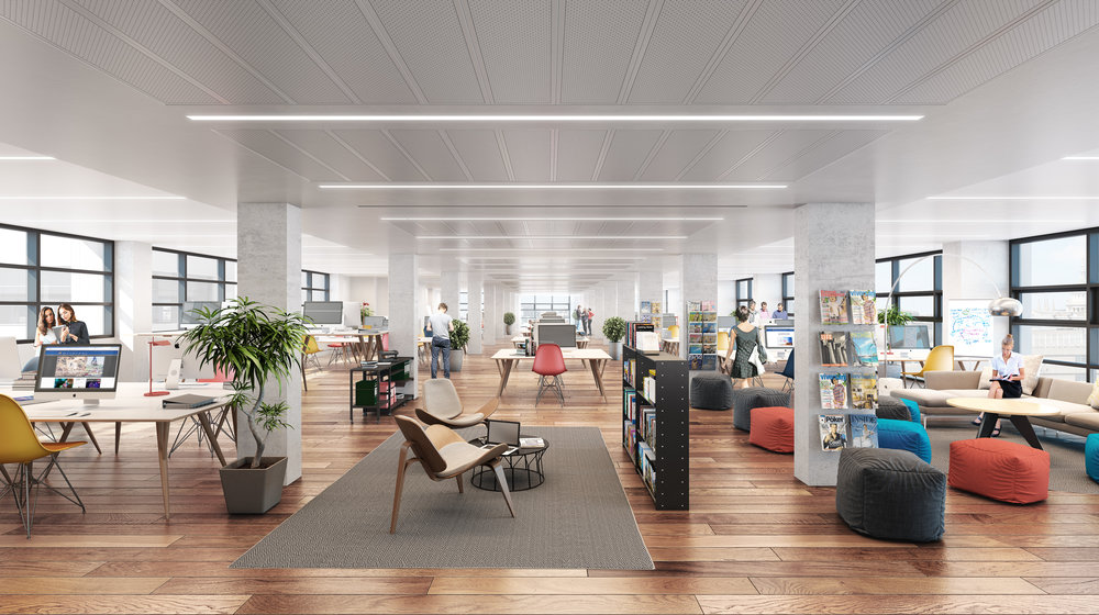 Cooper and southwark office space CGI