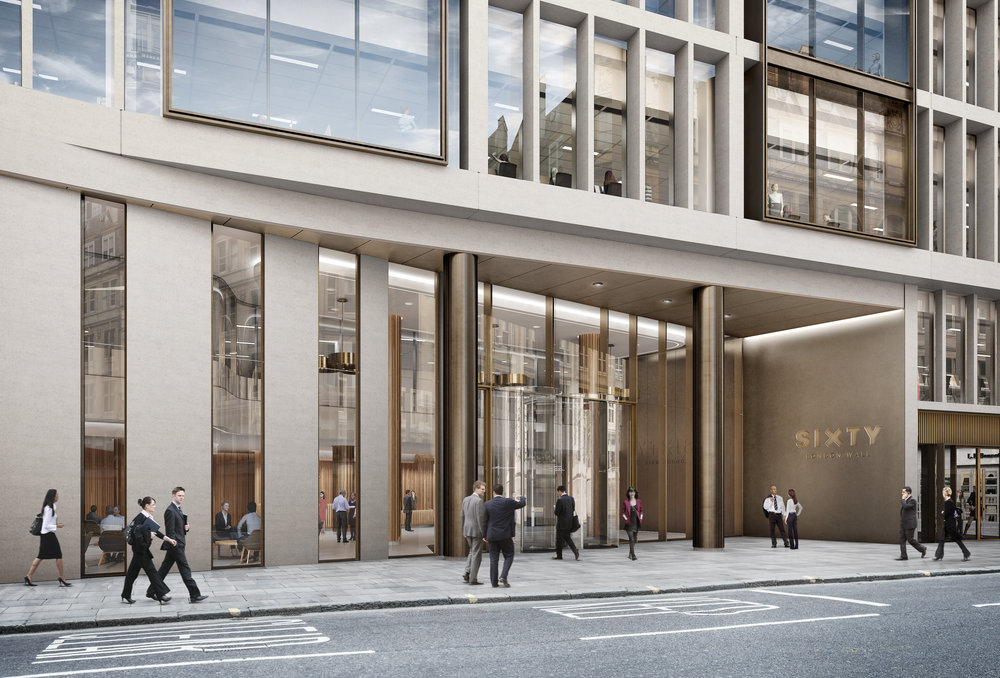 CGI 60 London Wall Reception
