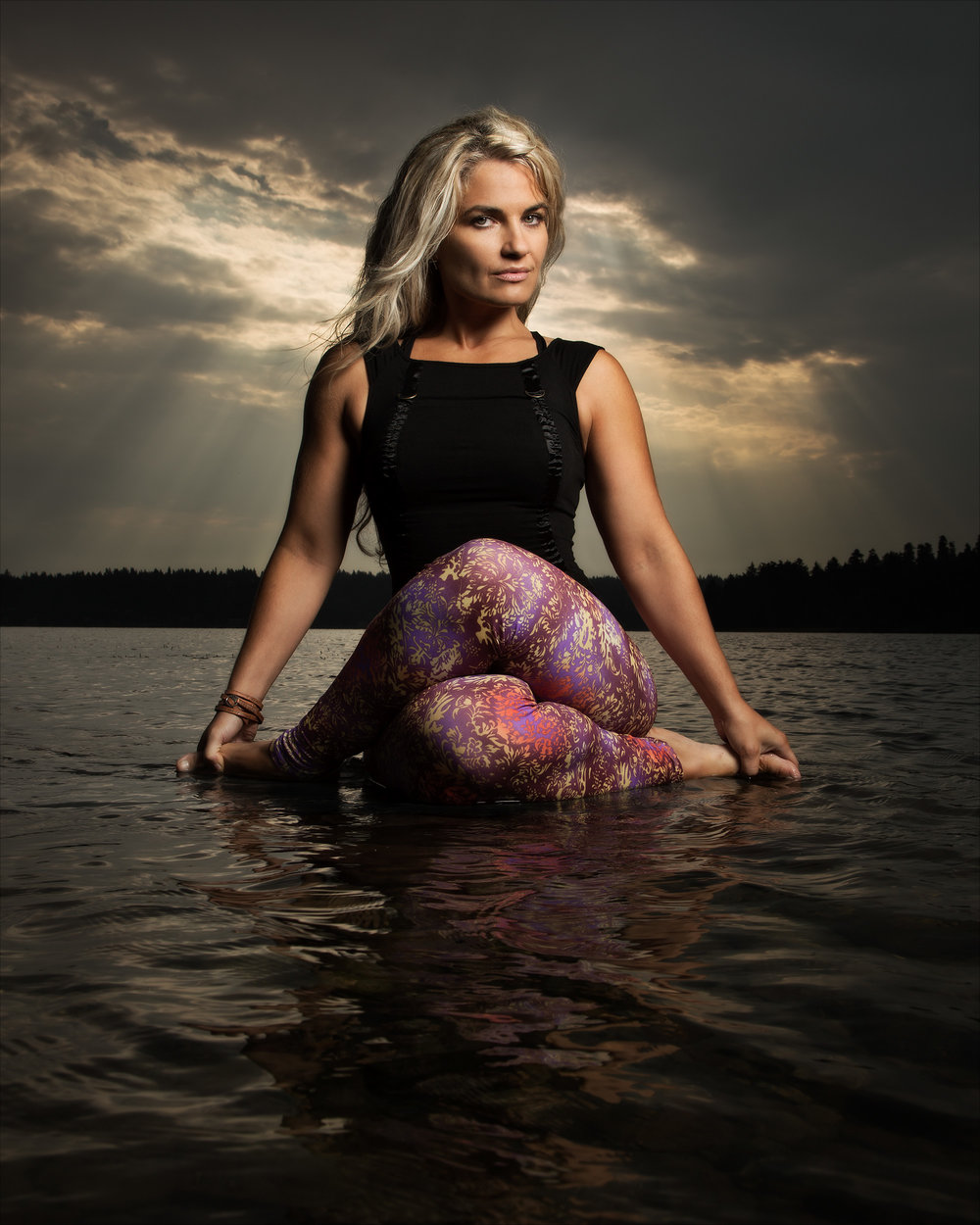 Michelle Thielen, yoga instructor