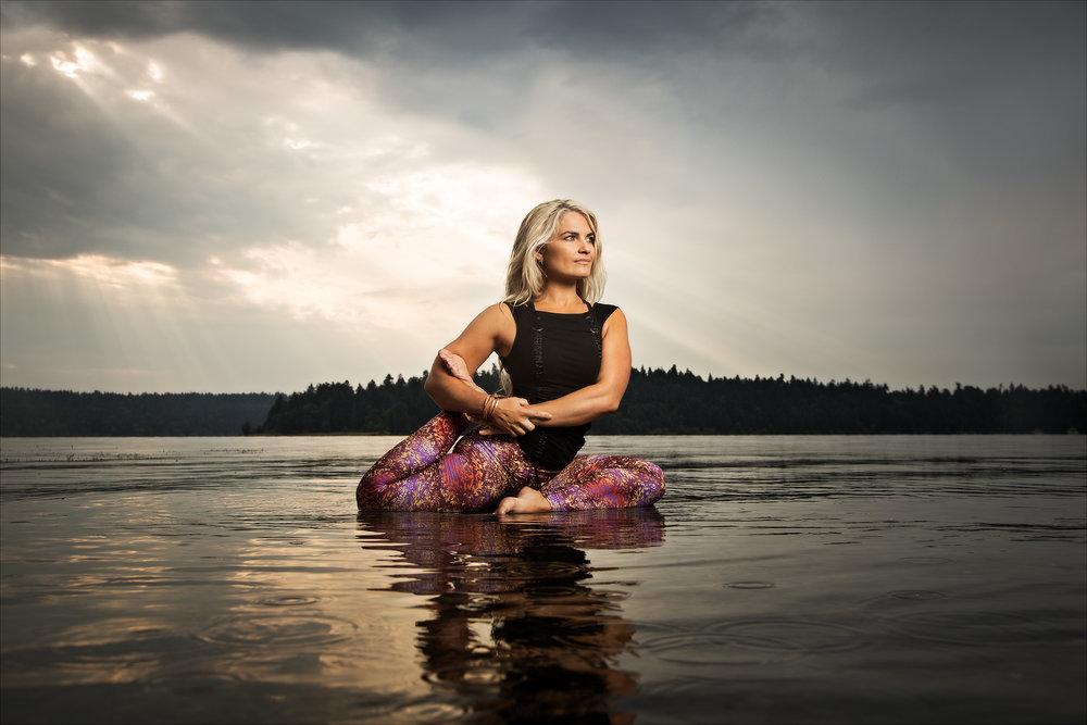 Michelle Thielen, yoga instructor