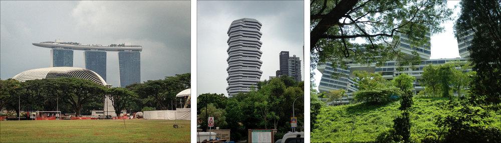 Singapore architecture.