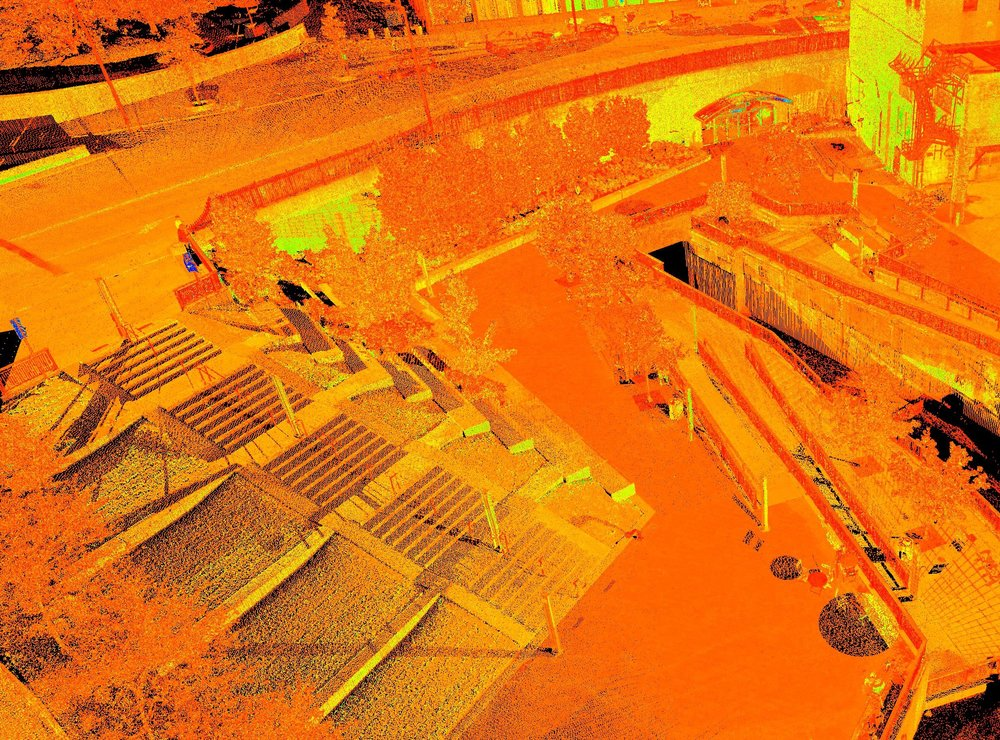 High Definition 3D Laser Scanning - High Definition Laser Scanning allows Straub to collect millions of survey points for sites, buildings, hazardous waste areas, crime scenes, and even blimps. Our Leica C-10 and BLK360 laser scanners have a range of up to 300 meters allowing us to collect accurate survey data from a distance.