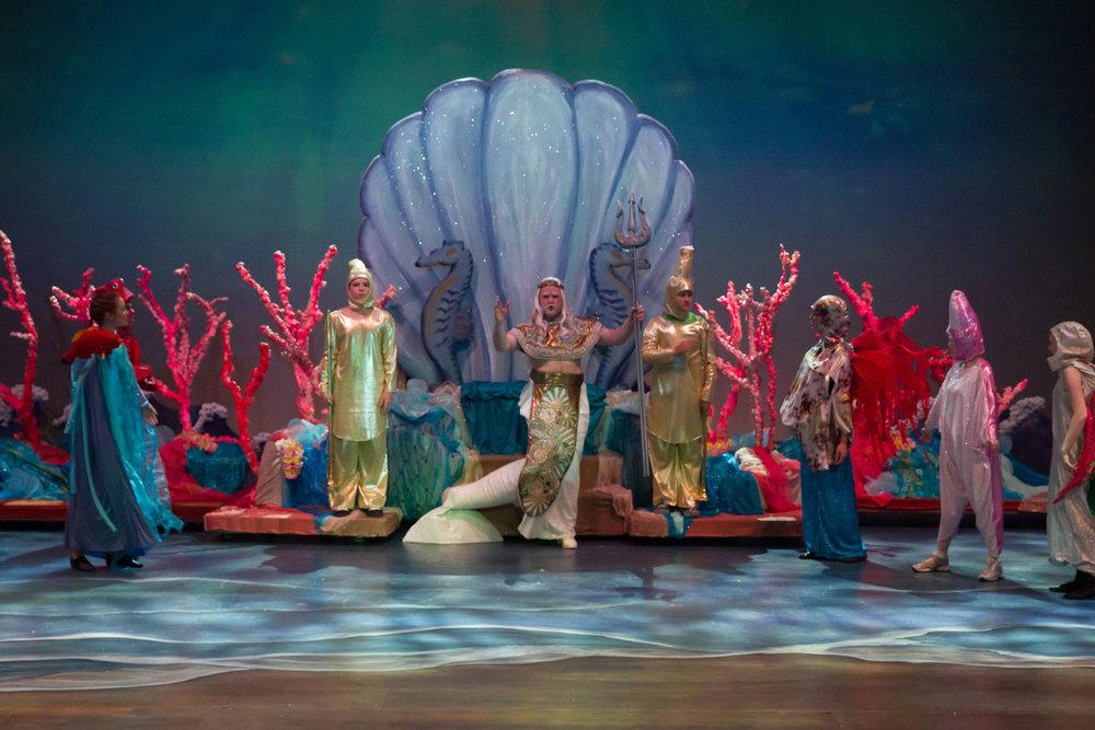 The Little Mermaid - Triton's Court