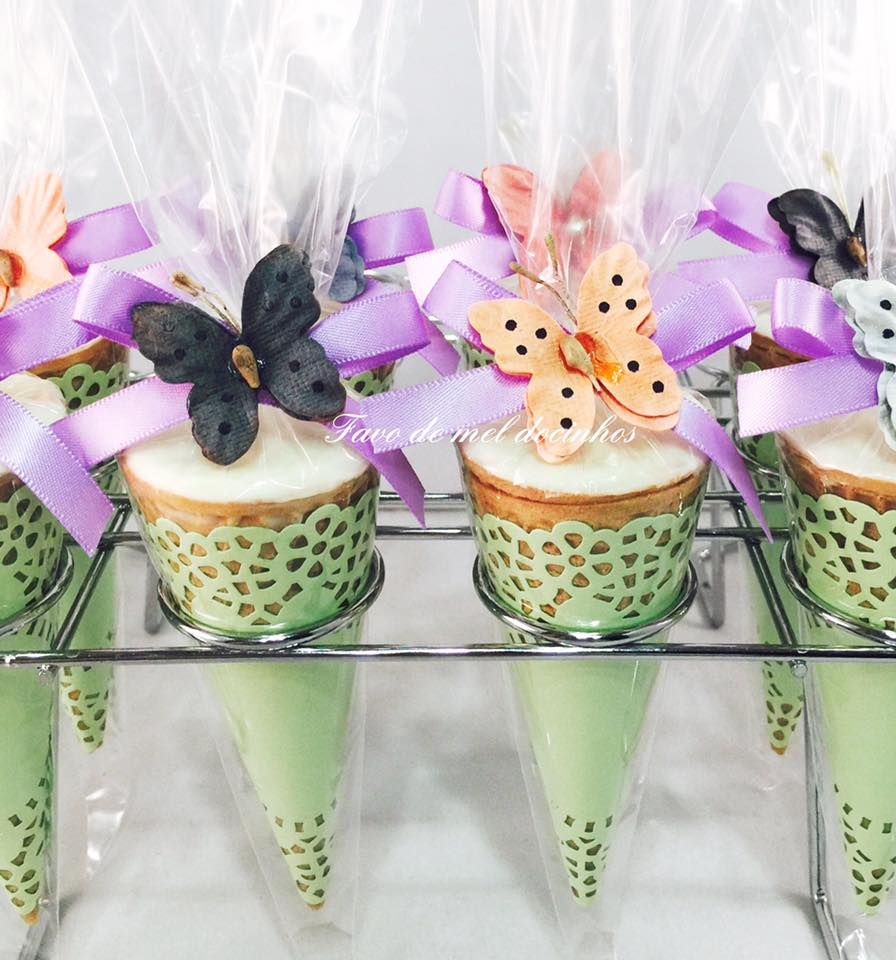 Truffled Cones - Plain and personalized  Cones