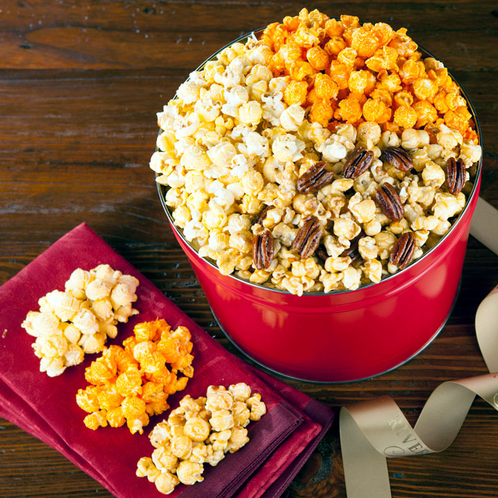 Gourmet Popcorn - Crunchy delight in salted or sweet flavors