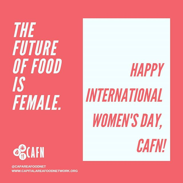 In honor of International Women's Day, CAFN is taking a look at the roles women play in the food system.  On the farm, in enterprise, in the (commercial and home) kitchen, in their families and in their communities, women are a crucial part of the food system we all depend on - but they're rarely acknowledged as such.  All too often, women still carry the burden of the family grocery budgeting, shopping and meal preparation on top of their own careers, a holdover from the traditional view of cooking as women's work concealing the true amount of time, care and labor involved.  Despite the fact that women make up over half of culinary school graduates, they are conspicuously absent from high-level positions or ownership in restaurants and haute cuisine, and face harassment, toxic workplace cultures, unfair policies, and the ever-present wage gap: https://civileats.com/…/women-are-uniting-to-fight-sexual-…/ Women of color face all this plus the further-compounded effects of racism.  And yet, women can be found at the forefront of all aspects of the food systems change movement: championing a model of food production which would nourish, dignify and liberate us all; leading through innovation in the agriculture and tech industries; feeding their communities; and more: https://civileats.com/…/the-inspiring-women-reshaping-the-…/. We see you, ladies, and we thank you for what you do despite all that you face!  What are some ways you'd like to see women, particularly women of color, be uplifted by food policy councils and our local food system?  Share in the comments!