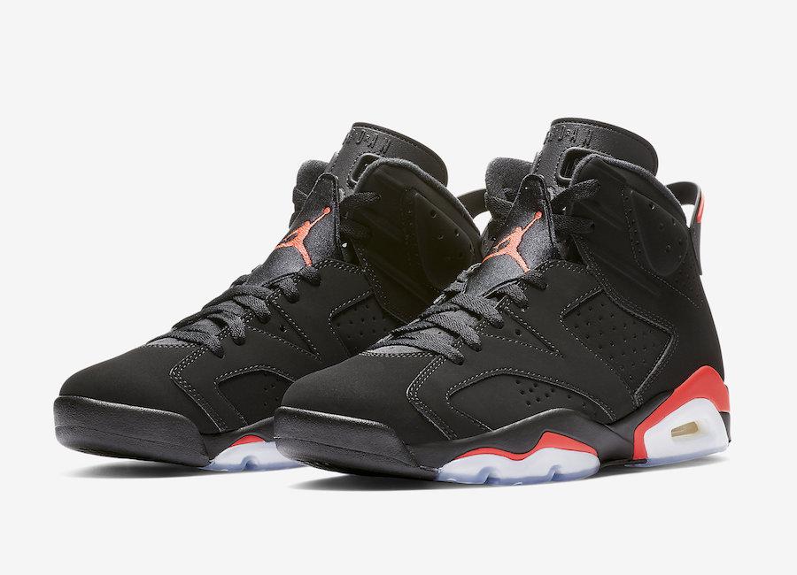 new style 605ee 338f3 Air-Jordan-6-Black-Infrared-2019-Retro-384664-