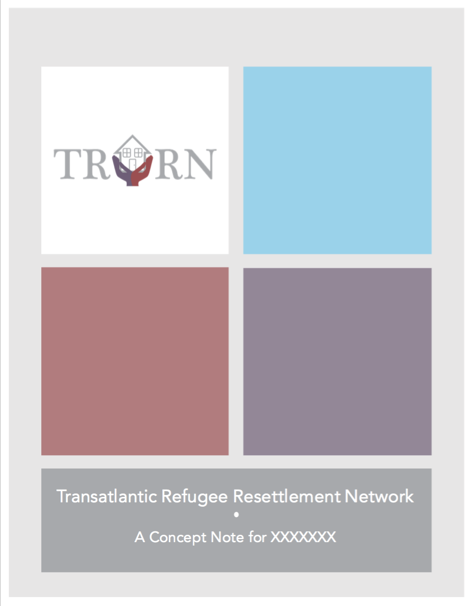 A Concept Note for the TRRN - click on the image to open the document.