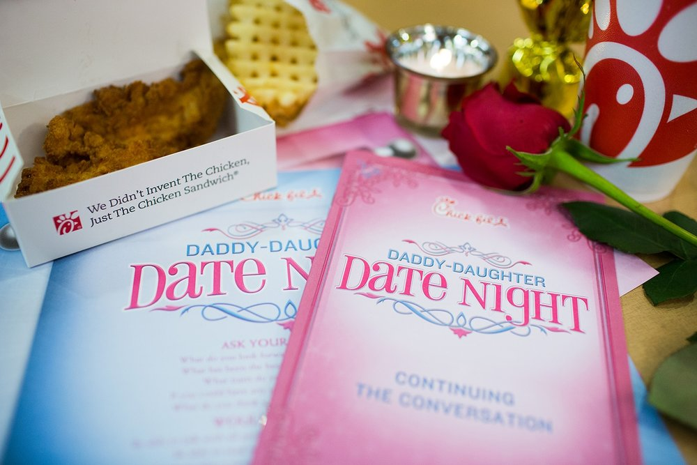 Daddy Daughter Date Night - RESERVE YOUR SPOT NOW - OCTOBER 27, 2018