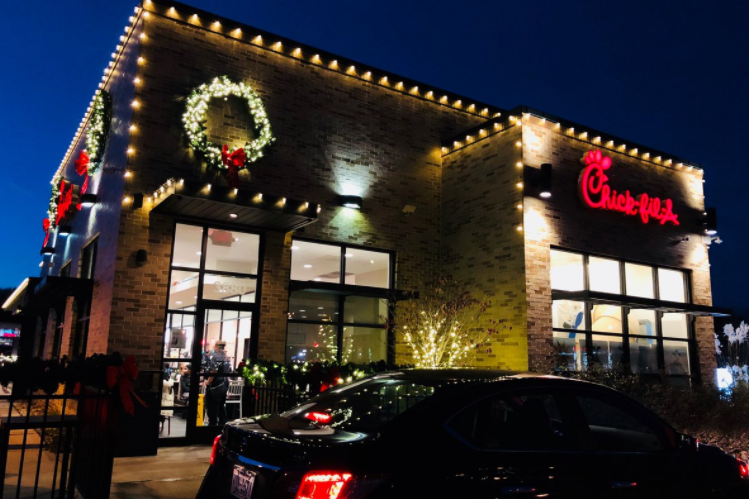A Chick-fil-A Christmas - CLICK FOR PICTURES OF CHRISTMAS, DECEMBER 2018