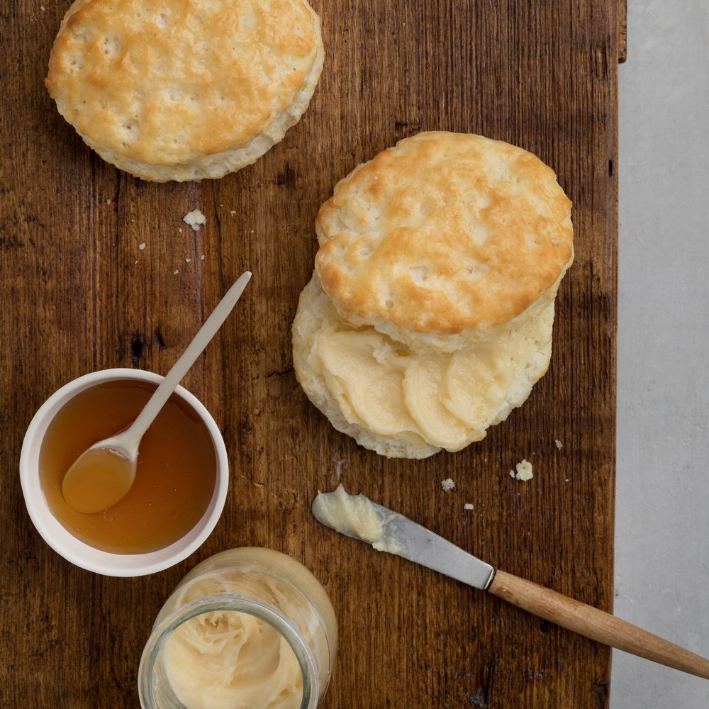 Did you know we hand-make our biscuits from scratch every day?