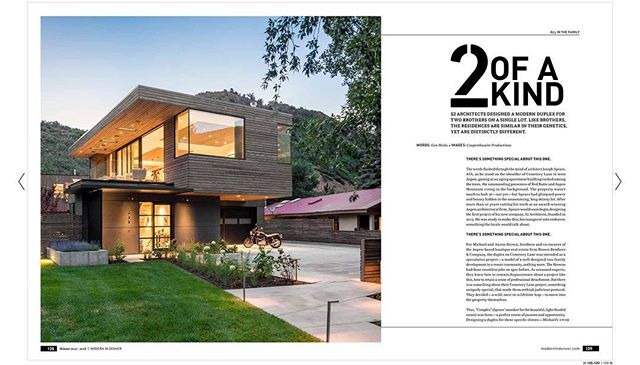 Modern in Denver Magazine - Winter Issue.  Read the article at https://view.publitas.com/modern-in-denver/modern-in-denver-winter-2017/page/128-129