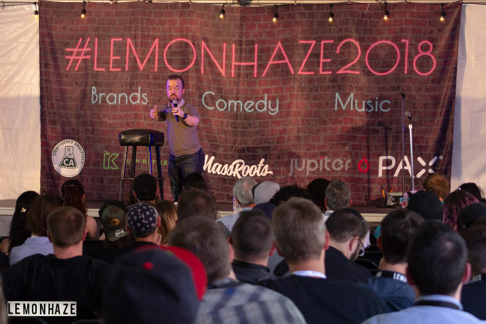 Entertainment - Top tier comedians and entertainers are currently being booked for Lemonhaze Cannabis Convention. Keep an eye out for our entertainment line-up. You can expect nationally known comedians that have been featured on platforms like , HBO, Showtime, Netflix, Jimmy Kimmel, Jimmy Fallon, and the Late Show.