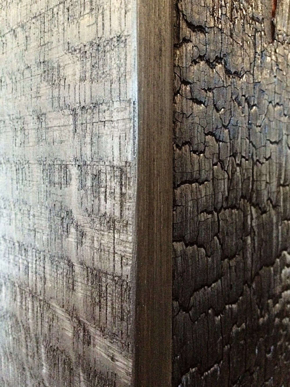 Breakers Habachy Designs Eutree Forest Free Shou Sugi Ban charred dark wood board frames