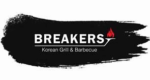 Breakers Korean Grill & Barbecue Logo