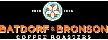 Batdorf & Bronson Dancing Goats Coffee Logo