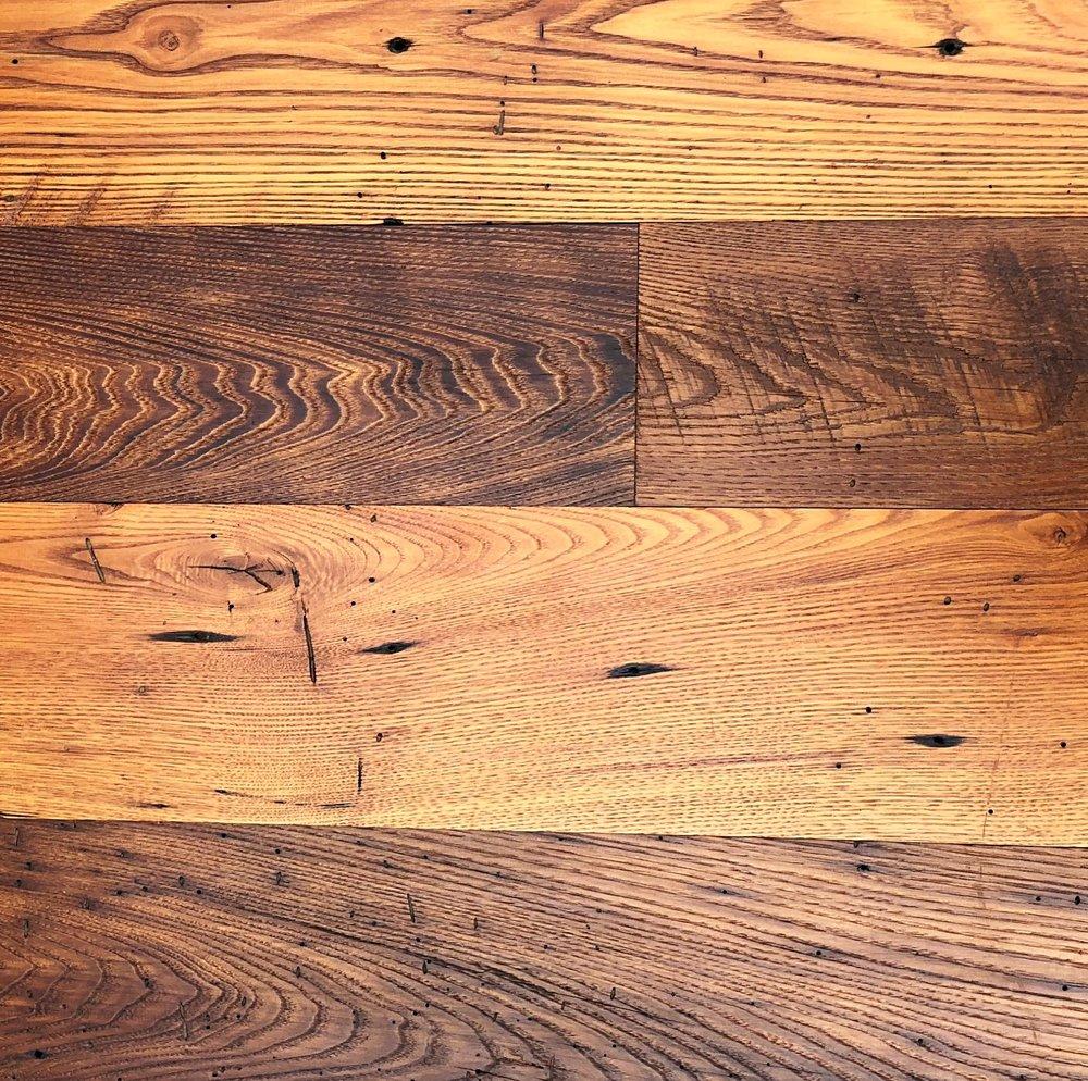 Antique Oak Barnwood Planed