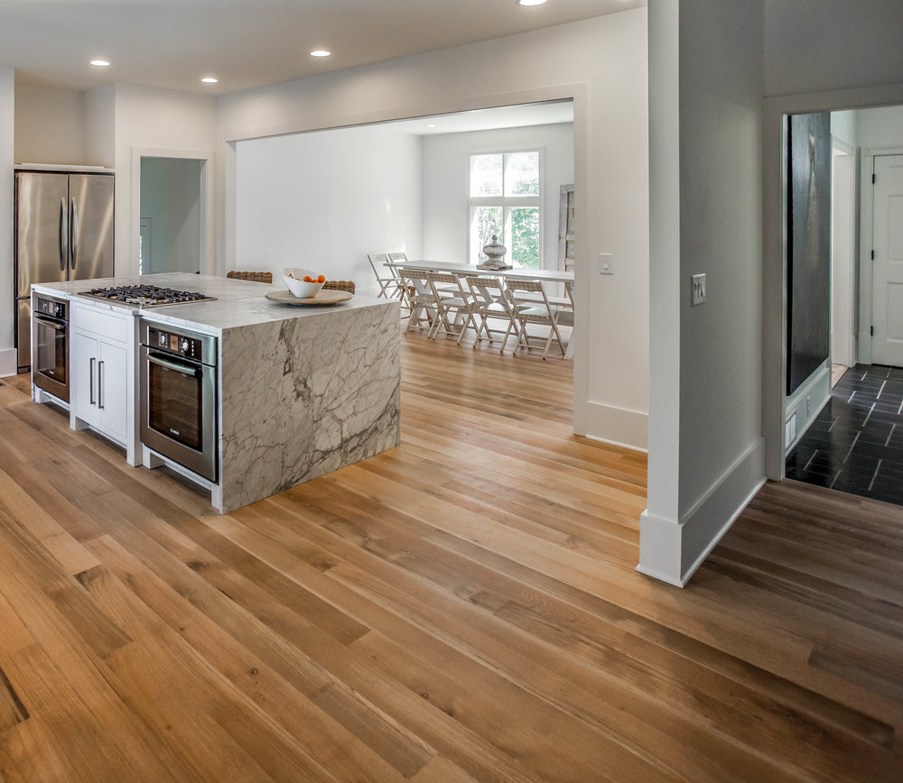 Forest Free white oak flooring