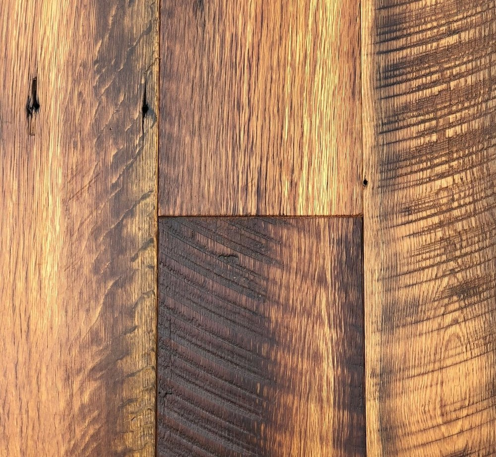 Antique Oak Skip Planed