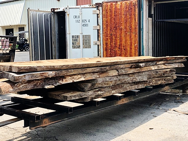 Eutree Piedmont Hospital Root to Fruit Live Edge Slabs
