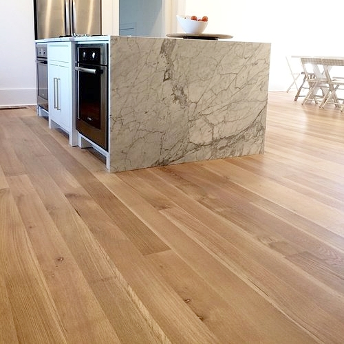 White Oak, Wide Plank Rift and Quartersawn