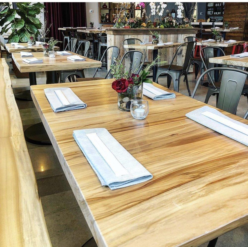 Nam Kitchen Eutree Sweetgum Live Edge Wood Slab