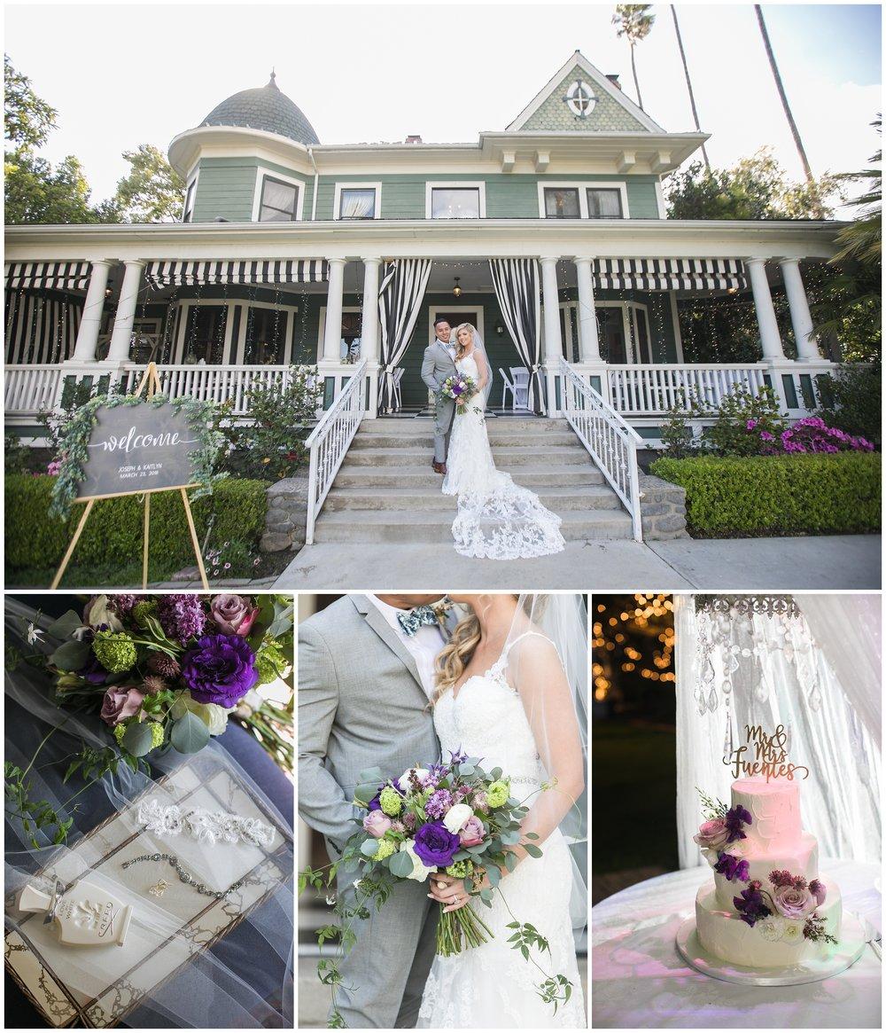 Christmas House Inn and Gardens wedding Rancho Cucamonga, Ca
