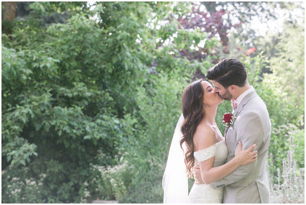 Copy of elegant homestead at wilshire ranch wedding bride groom kissing portrait carrie vines