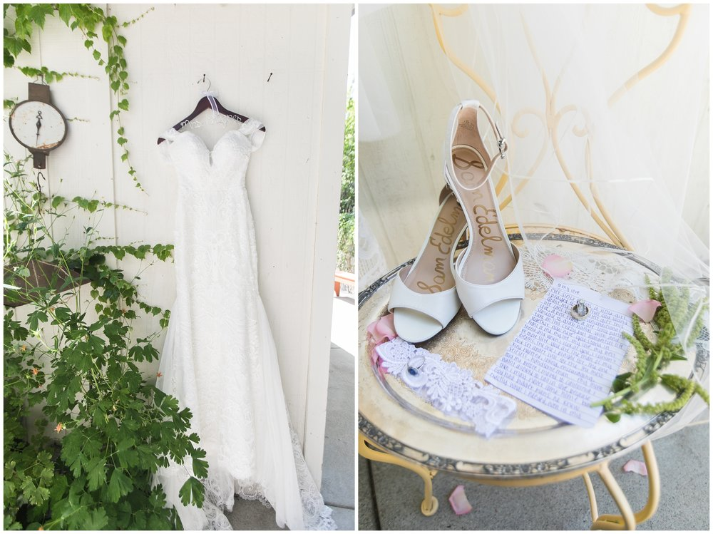 Copy of elegant homestead wilshire ranch wedding bride dress shoes carrie vines