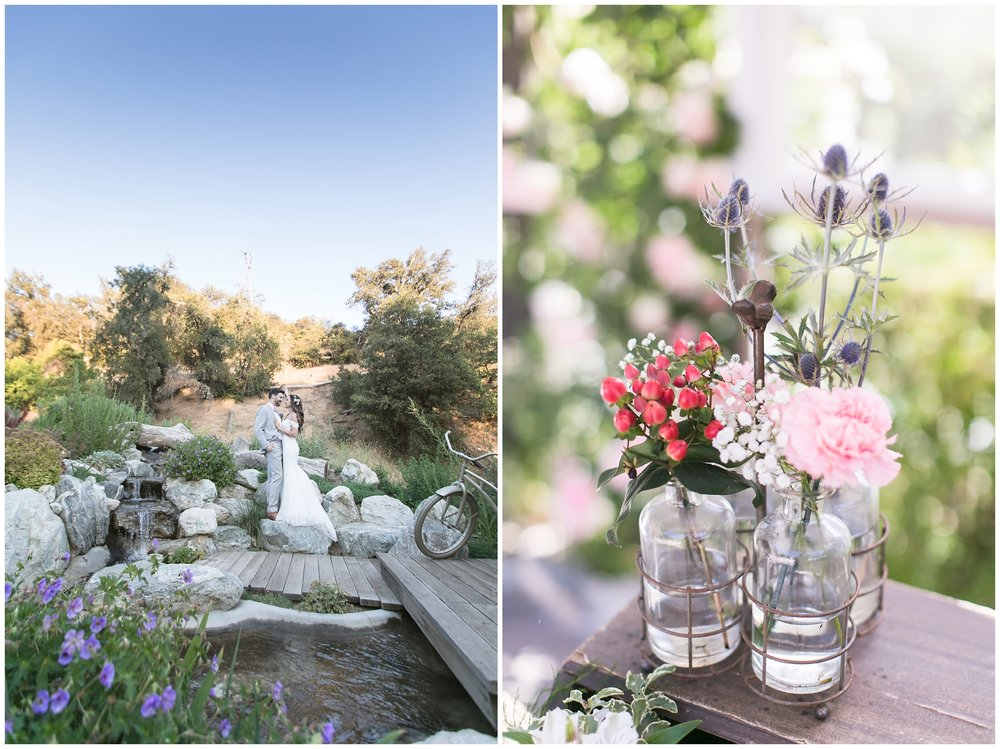 Copy of elegant homestead wilshire ranch wedding waterfall portrait bride groom carrie vines