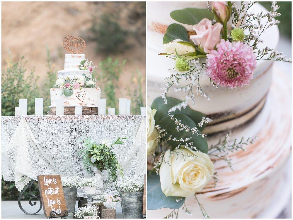 Copy of elegant homestead wilshire ranch wedding cake flowers carrie vines