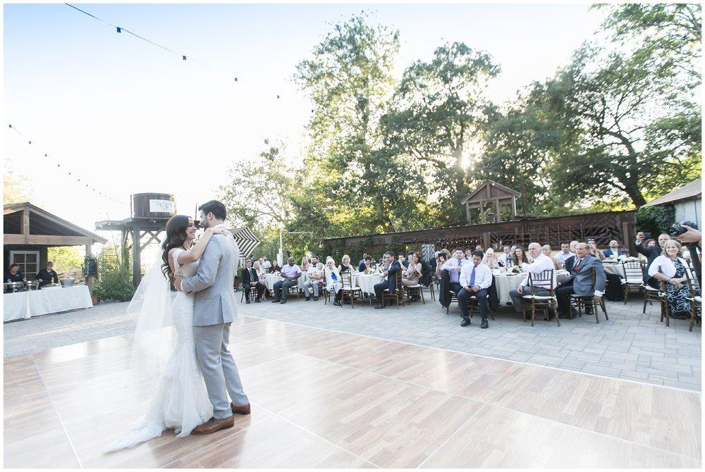 Copy of elegant homestead wilshire ranch wedding bride groom first dance reception carrie vines