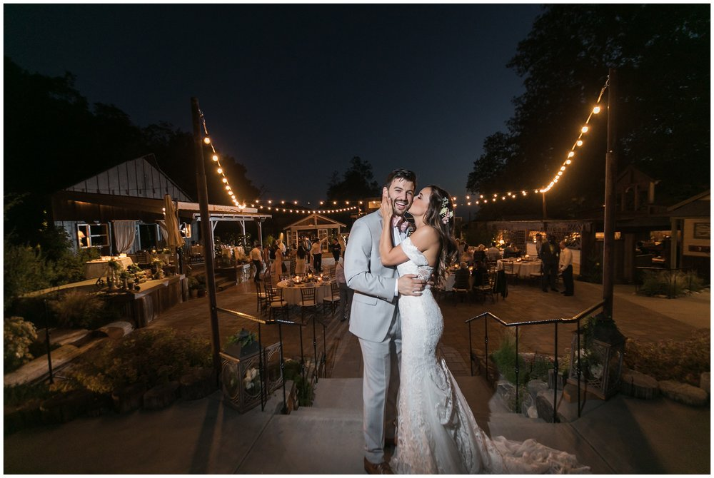 Copy of elegant homestead wilshire ranch wedding reception bride groom night portrait carrie vines