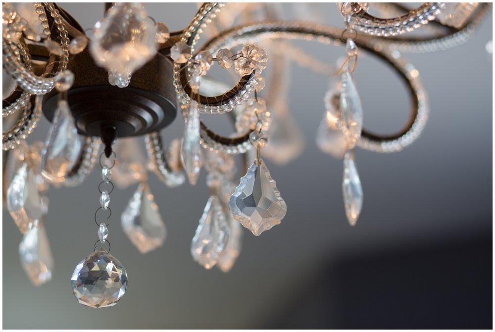 Elegant Christmas House Inn and Garden wedding chandelier carrie vines