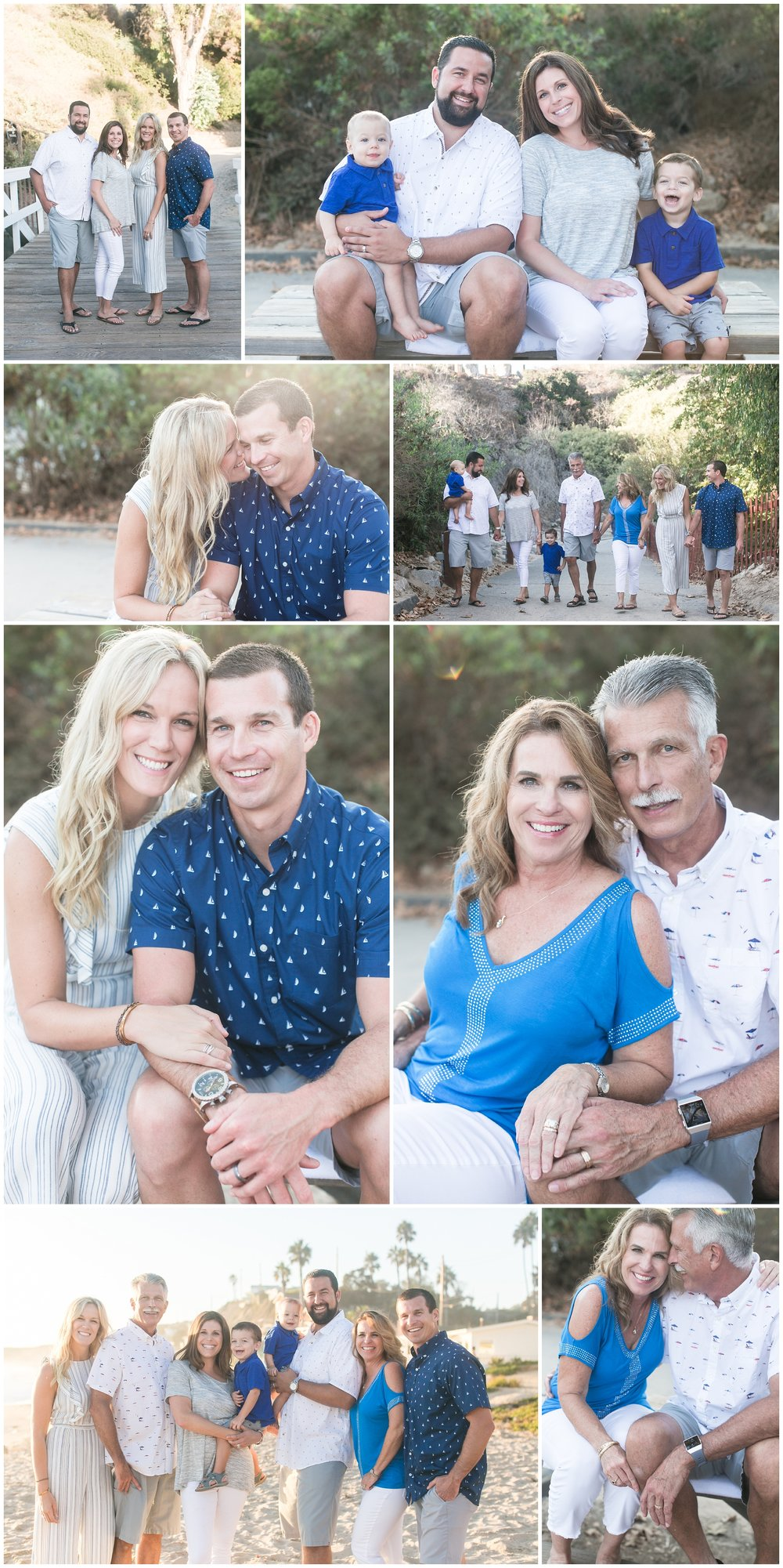 Crystal Cove Beach Family Session