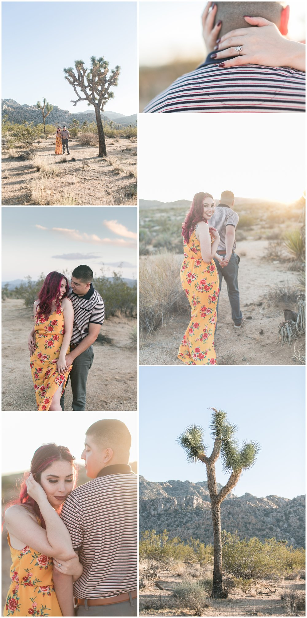 Joshua Tree engagement photos | Joshua Tree engagement session carrie vines
