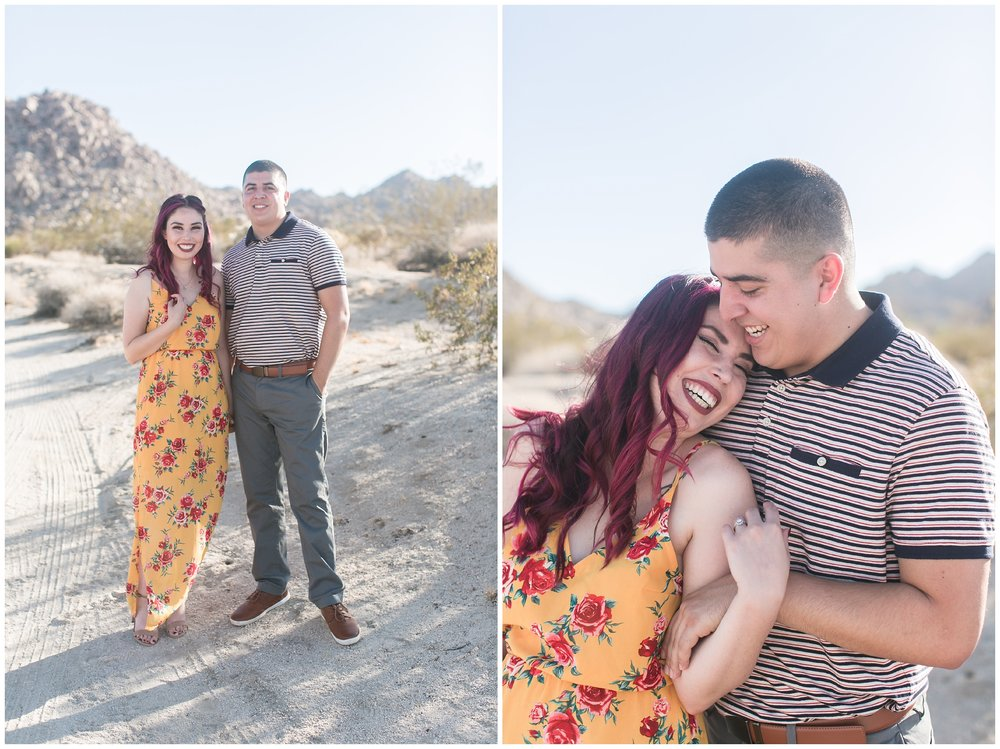 Joshua Tree Engagement Session Los Angeles Wedding Photographer Carrie Vines