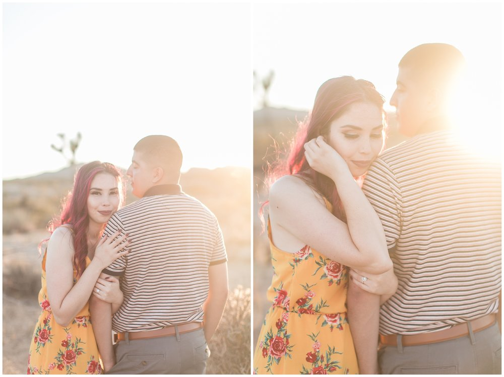 Joshua Tree Engagement Session Palm Springs Wedding Photographer Carrie Vines