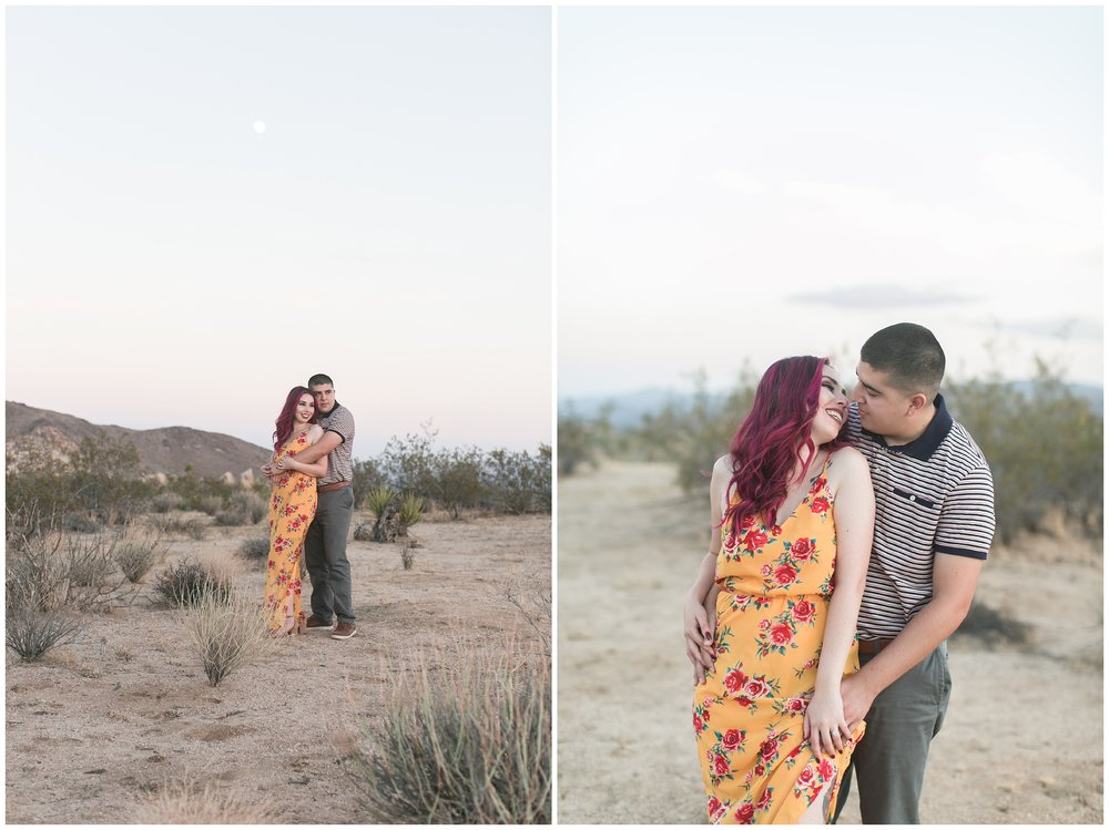Desert engagement session palm springs wedding photographer carrie vines
