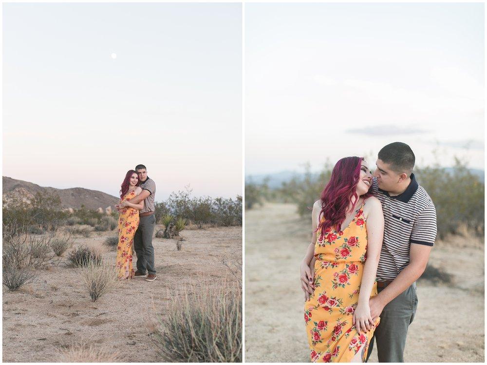 Desert engagement session palm springs wedding photographer carrie vines