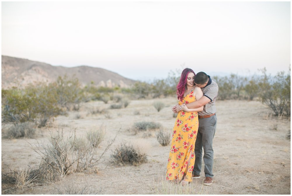 Joshua Tree Engagement Session Southern California Wedding Photographer Carrie Vines