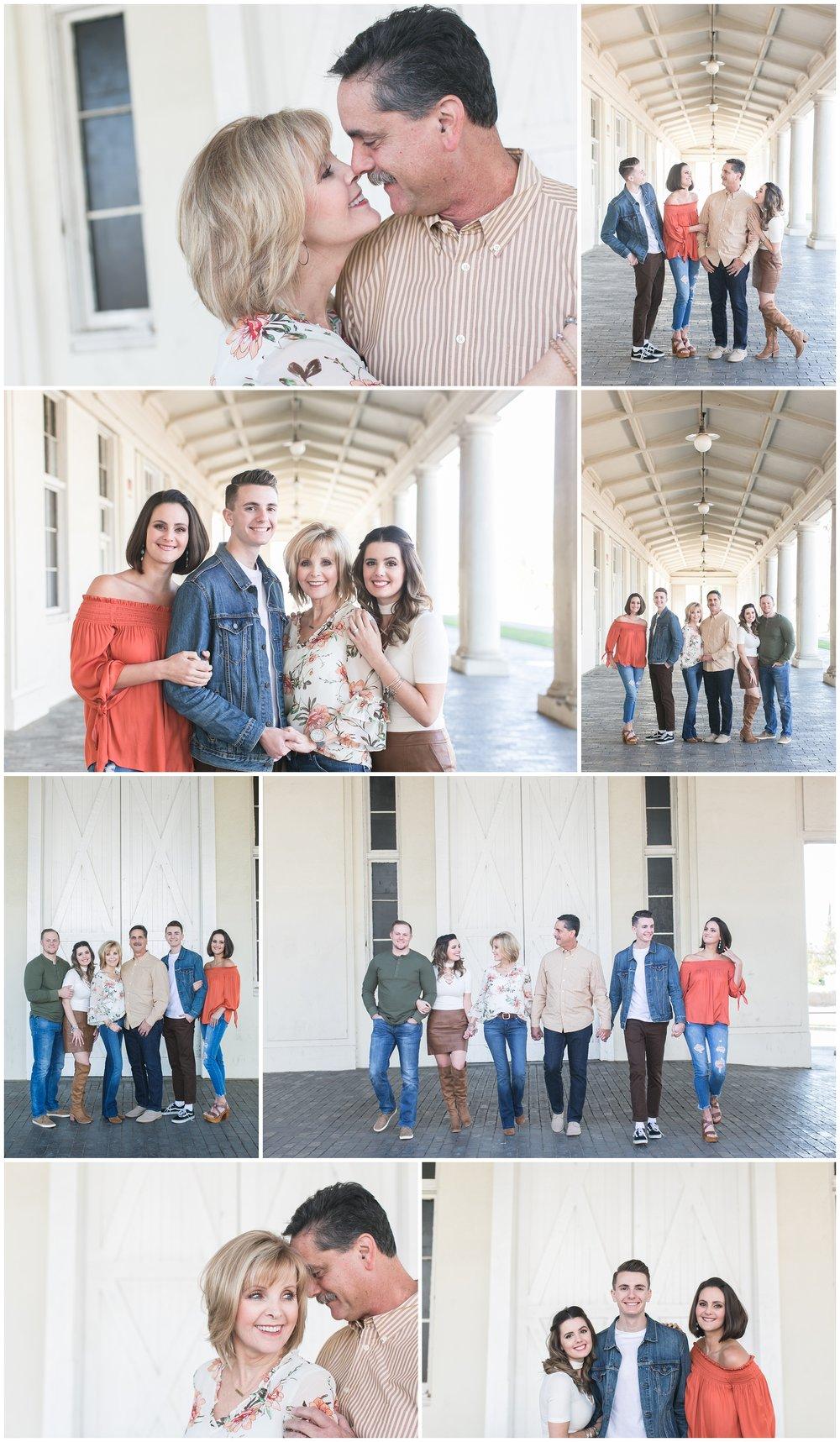 Historic Redlands Train Station Redlands Santa Fe Depot family photography session carrie vines