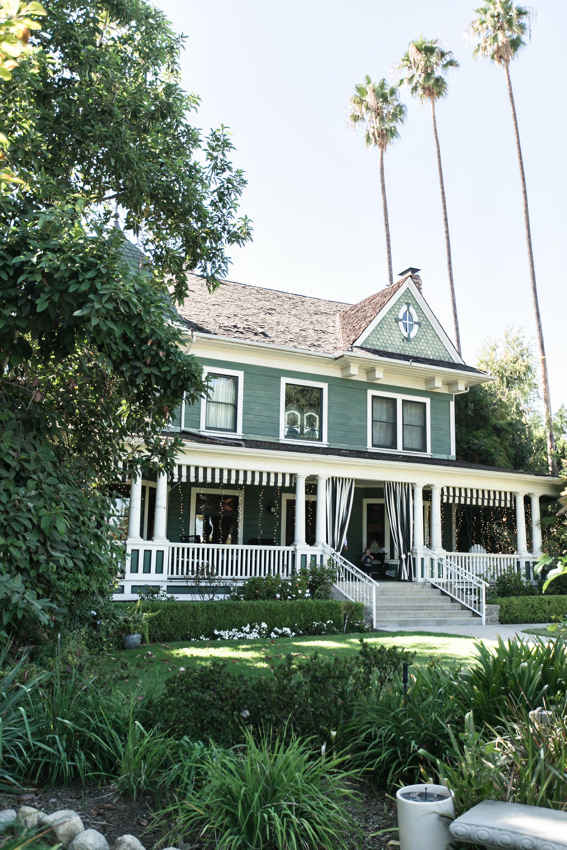 Hollywood Glamour Christmas House Inn And Gardens Wedding Rancho
