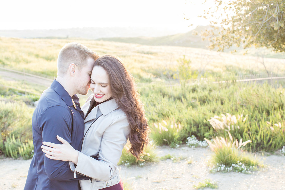 sycamore canyon park riverside engagement session carrie vines photography