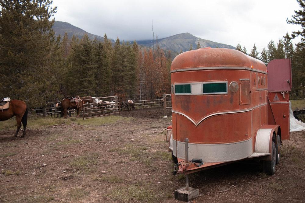 bob Marshall wilderness | pack trip | back country horsemen of montana