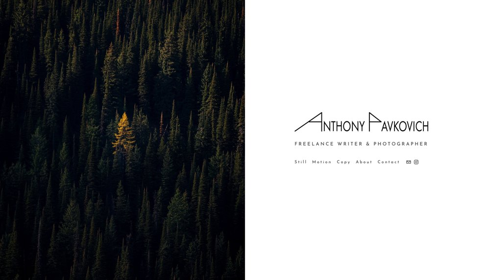 Anthony Pavkovich | Freelance Writer and Photographer