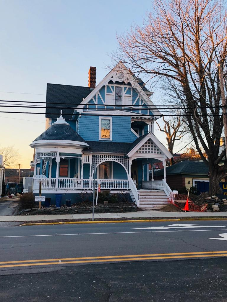 The Queen Anne Victorian on Savannah Road in Lewes, DE has stood tall for over a 100 years .