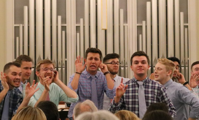 Kilgo Selected for Hyannis Sound A Cappella Group - William & Mary, 2015