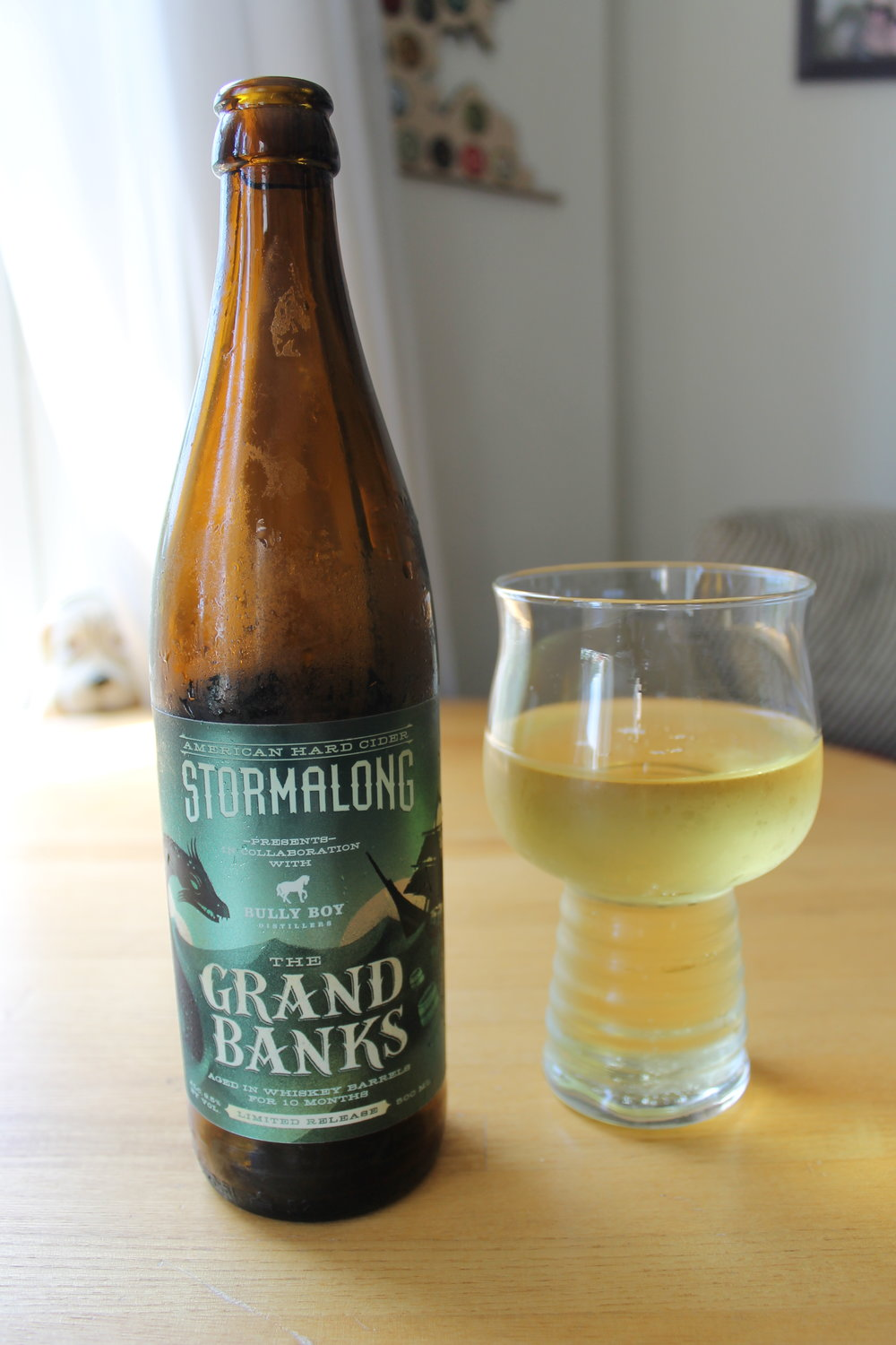 Stormalong Cider: The Grand Banks - Whiskey Barrel Aged